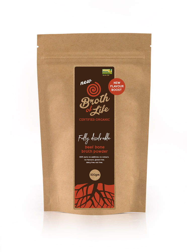 Bone Broth Bulk Buy (1kg Satchel) (organic)