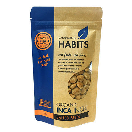 Changing Habits Inca Inchi Salted Seeds