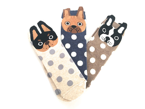 Frenchie Socks - Chew Time - 1