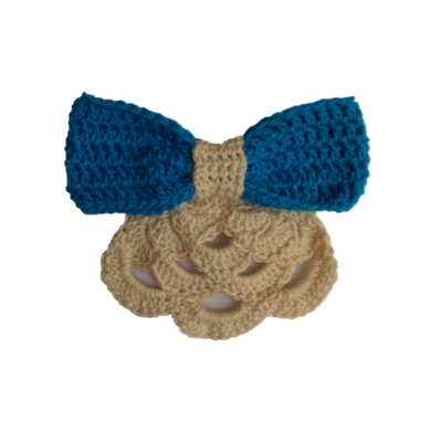 Crochet Premium Big Bow Bandana
