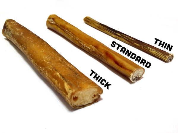 15 cm Bully Stick (Thin, Odour Free) - Chew Time - 1