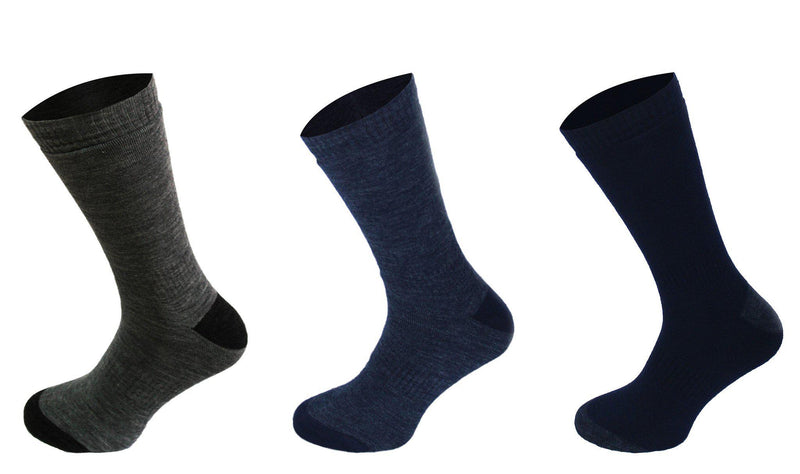 205 - Men's Thermo Socks (3 Pack) - Oxford Blue