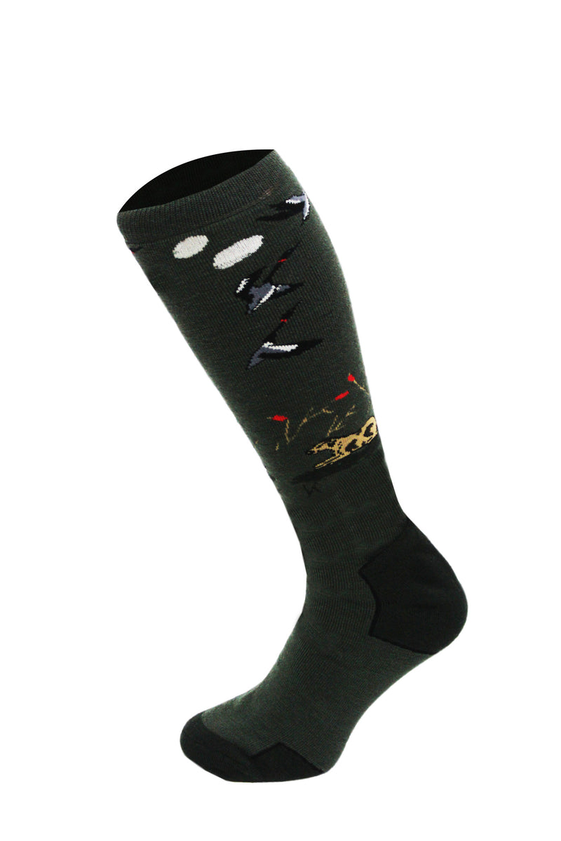 542 - Men's Knee High Hunting Socks (2 Pack)