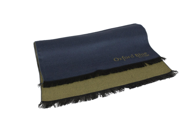 Oxford Blue 2 Tone Scarf - Navy