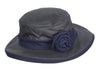 HW21 - Women's Rose Wax Hat - NAVY - Oxford Blue