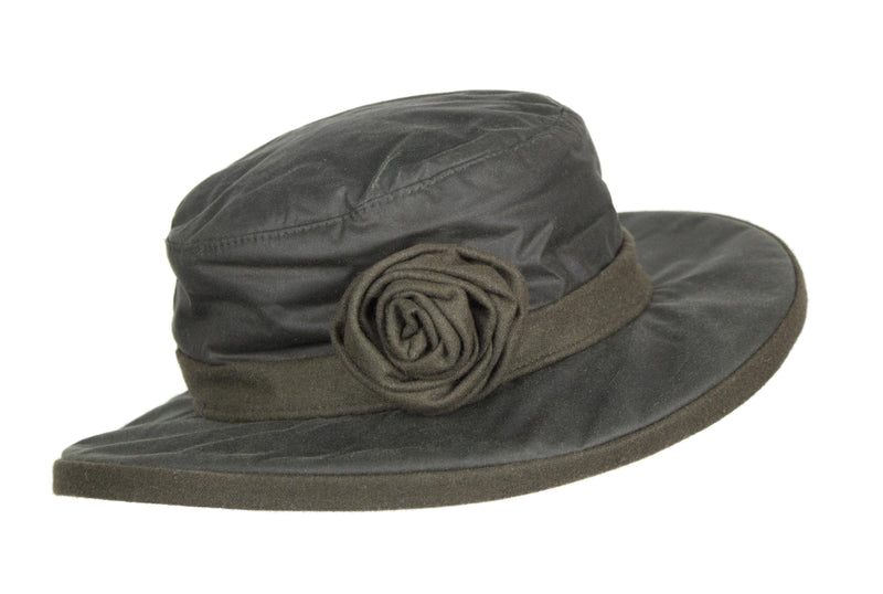 HW21 - Women's Rose Wax Hat - Oxford Blue