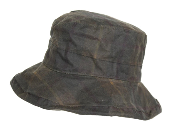 HW25 - Women's Ascot Tartan Wax Hat - Oxford Blue