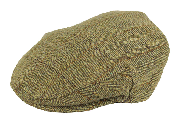 HW32 - Mix Wool Tweed Cap - Oxford Blue
