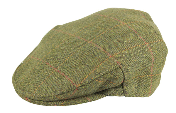 HW32 - Men's Tweed Cap - Oxford Blue