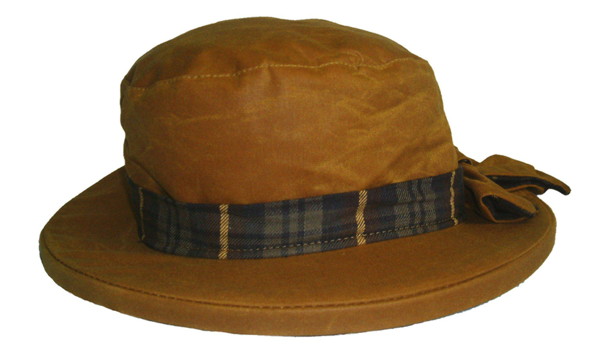 HW44 - Women's Thelma Antique Wax Hat - Oxford Blue