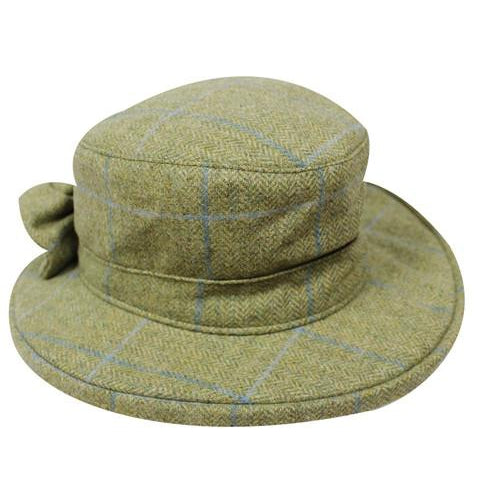 HW45 - Women's Thelma Tweed Hat - Oxford Blue