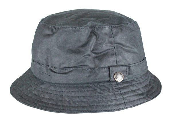 HW77 - Wax Bush Hat - NAVY - Oxford Blue
