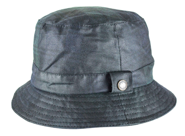 HW95 - Bush Hat Tartan Wax - BLACKWATCH - Oxford Blue