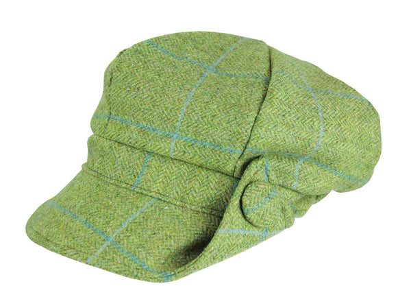 HW97 - Lilly Women's Tweed 8pc Hat - Oxford Blue