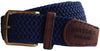 Charlbury Woven Elasticated Belt - Oxford Blue