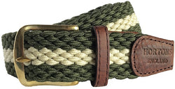 Gresham Woven Elasticated Belt - Oxford Blue