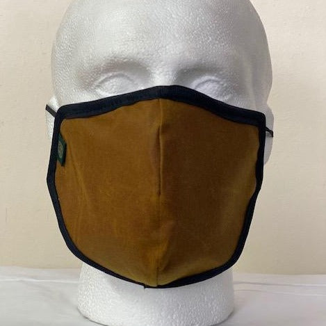FM02 - Antique Wax Face Mask - GOLD - Oxford Blue