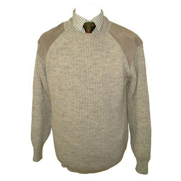 K19 - Men's Crew Neck Jumper - Oxford Blue