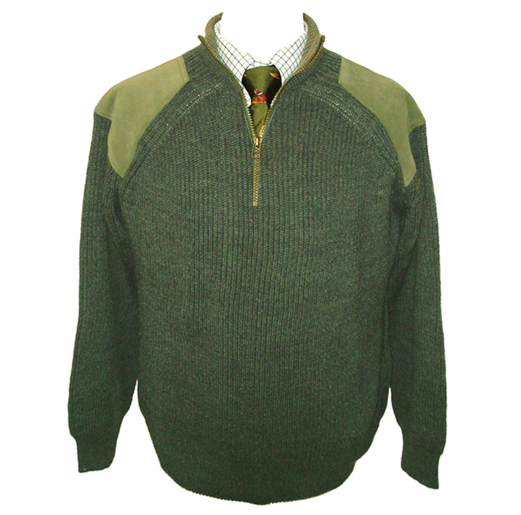 K21 - Men's Half Zip Wool Jumper
