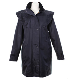 LJ056 - Women's Short Cape Equestrian - NAVY - Oxford Blue