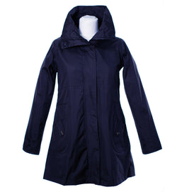 LJ064 - Women's New England Coat - NAVY - Oxford Blue