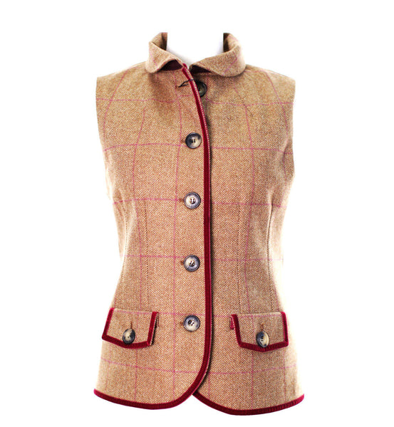 LTW08 - Women's Tweed Gilet