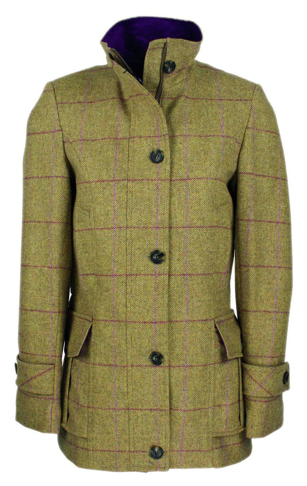 LTW09 - Women's Tweed Field Jacket - Oxford Blue