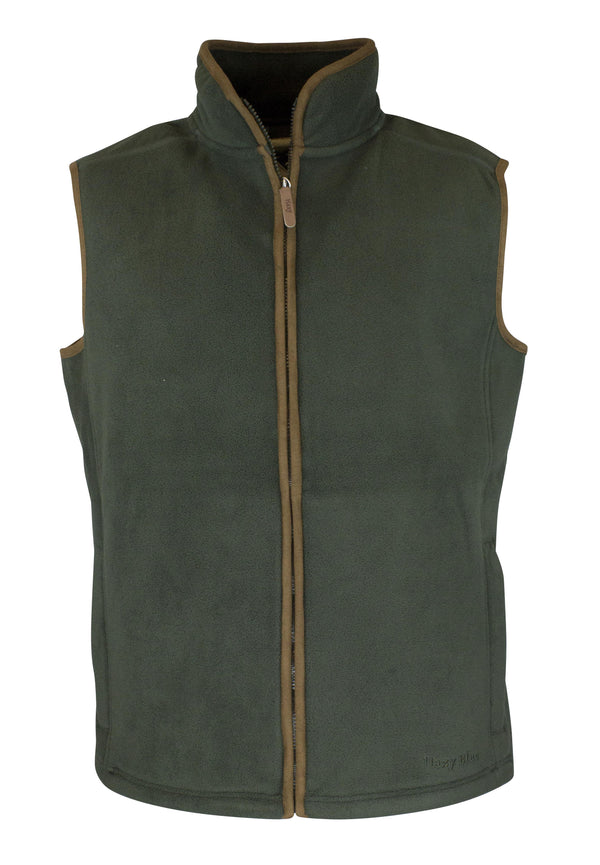 MF102 - Men's Fleece Gilet - Oxford Blue