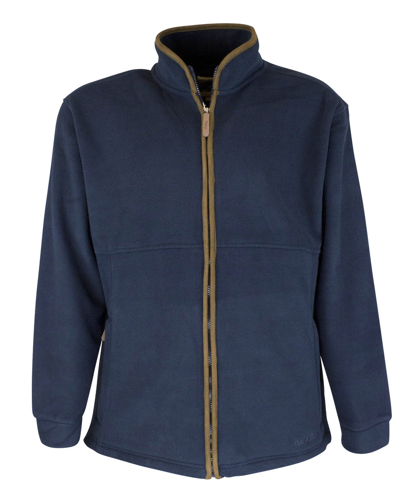MF103 - Mens Full Zip Fleece - Oxford Blue