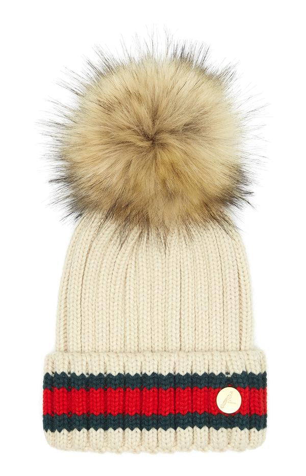 Kloster Pom Pom Hat - Oxford Blue