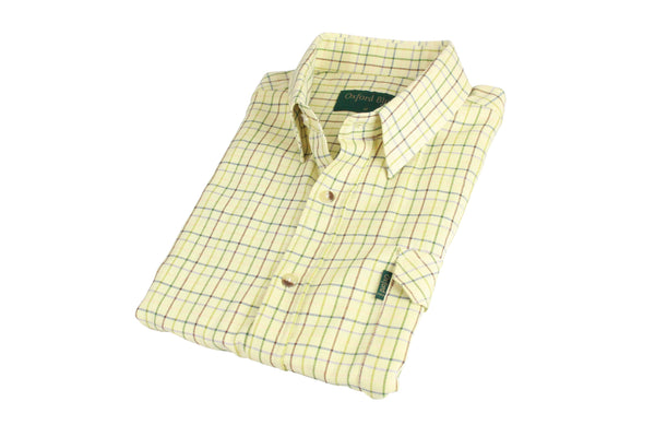 SH39 - Men's Darwen Check Shirt - Oxford Blue