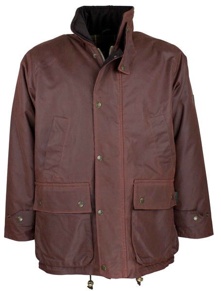 W05 - Men's Kingsbridge Padded Wax Antique Coat