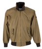 W19 - Harrington Wax Jacket - SAND - Oxford Blue