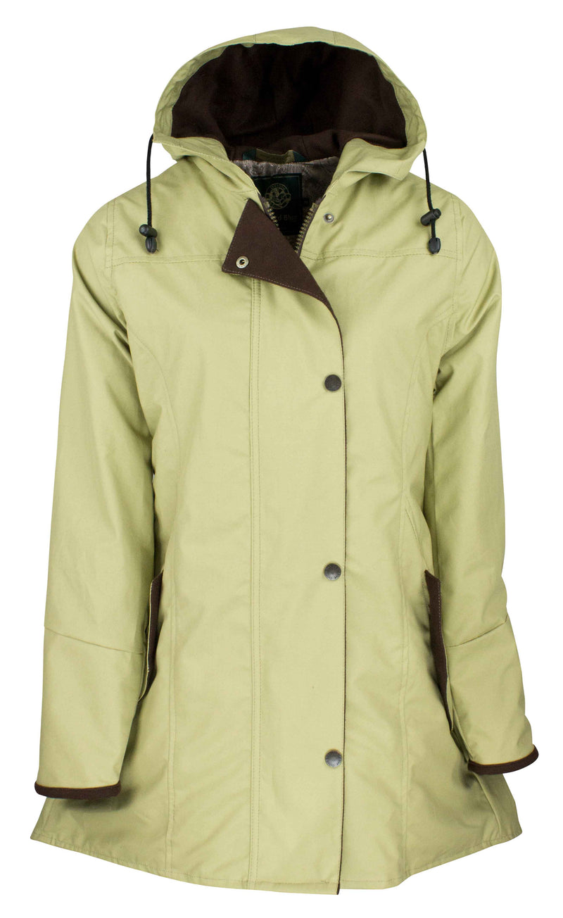 W236 - Women's Hooded Katrina Discovery - BEIGE - Oxford Blue