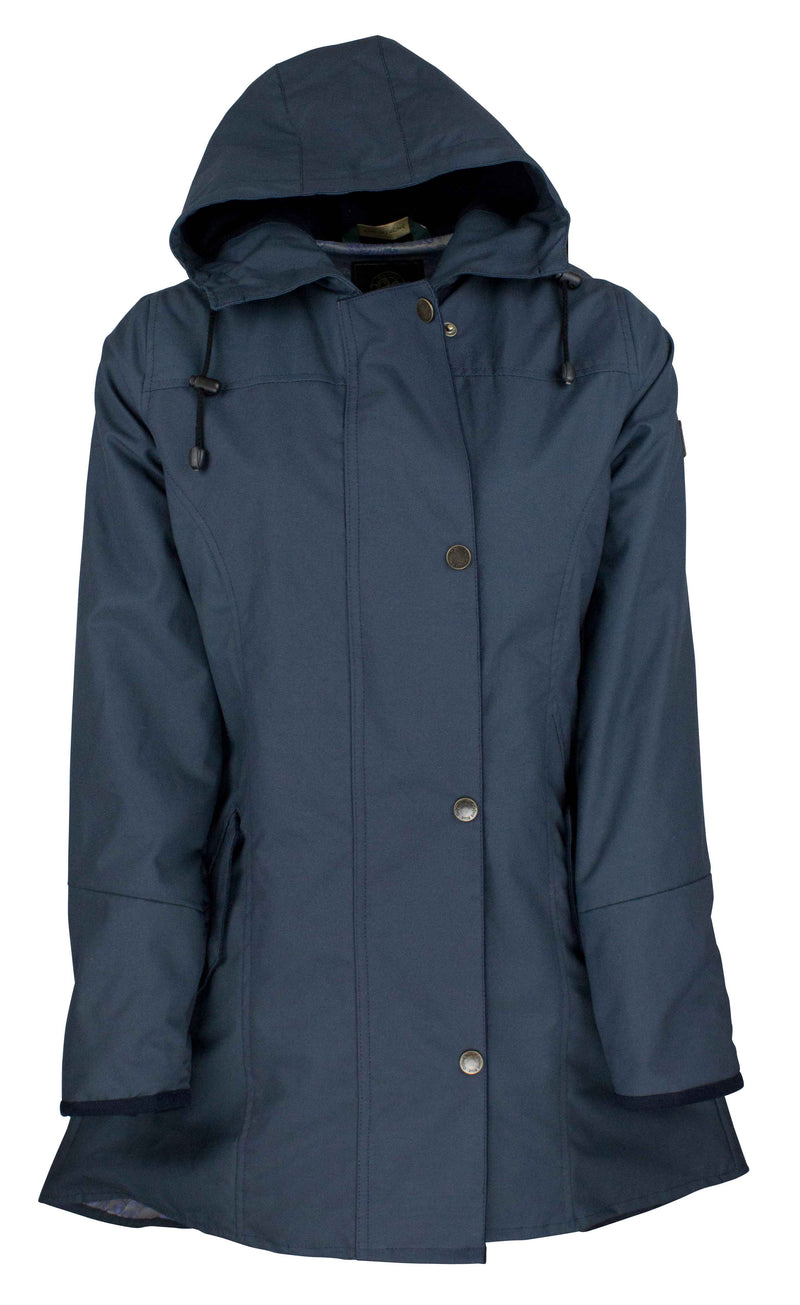 W236 - Women's Hooded Katrina Discovery - NAVY - Oxford Blue