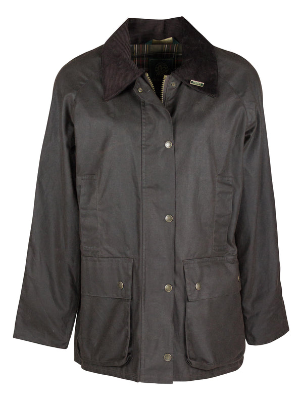 W24 - Women's Countrygirl Wax Jacket - Oxford Blue