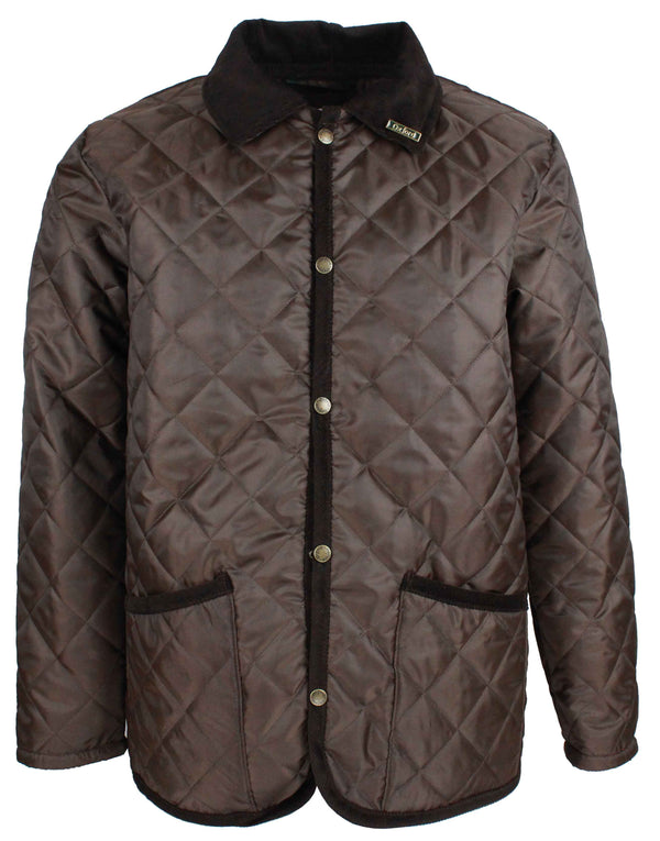 W34 - Men's Highgate Quilted Jacket - Oxford Blue