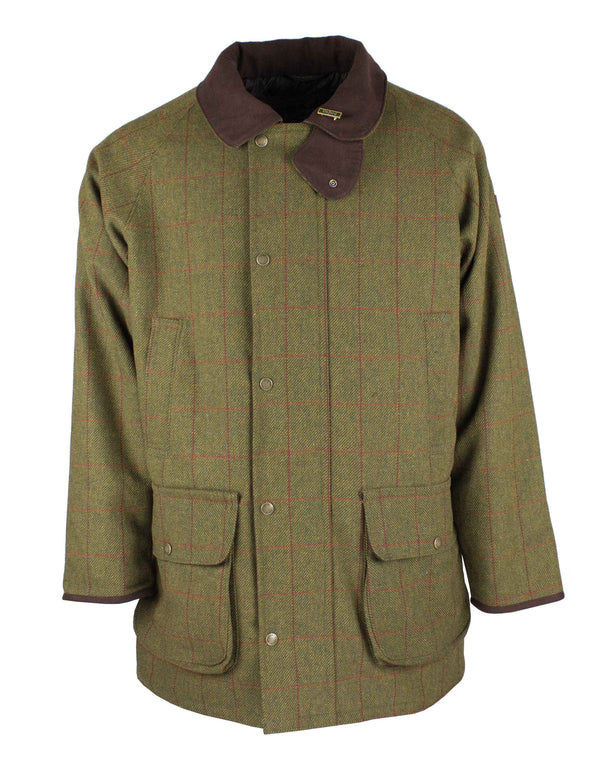 W37 - Men's Brampton Raglan Tweed Coat