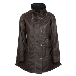 W47 - Women's Katrina Waxed Jacket - Oxford Blue