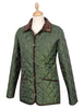 W59 - Women's Highgate Quilted Jacket - OLIVE GREEN - Oxford Blue