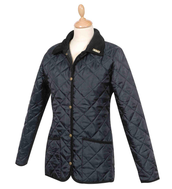 W59 - Women's Highgate Quilted Jacket - Oxford Blue