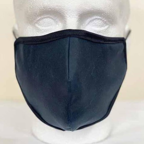 FM02 - Antique Wax Face Mask - NAVY - Oxford Blue
