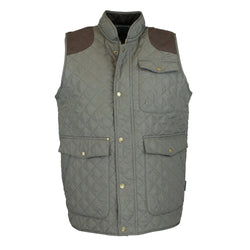 W143 - Men's Thistle Quilted Gilet