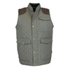 W143 - Men's Thistle Quilted Gilet - Oxford Blue