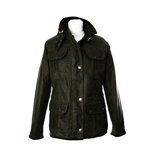 W111 - Women's Wax Biker Jacket