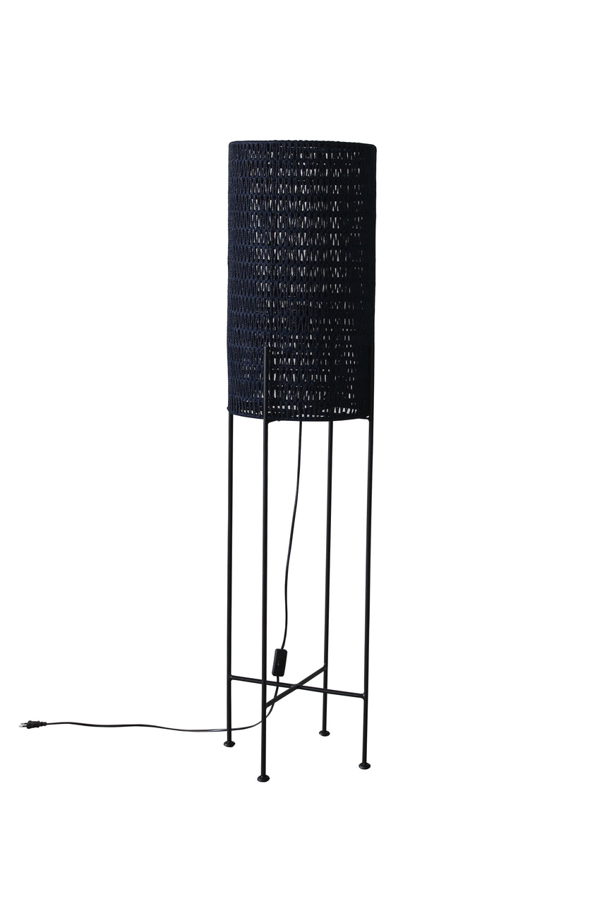 Floor Lamp - DIEGO (Dark Navy) | Gaya Alegria