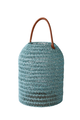 Lantern - Azur (Soft Blue) - Car Weave