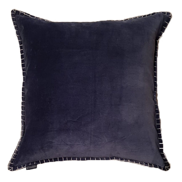 Cushion Cover - Baldu Midnight Blue (L/50x50cm) | Gaya Alegria