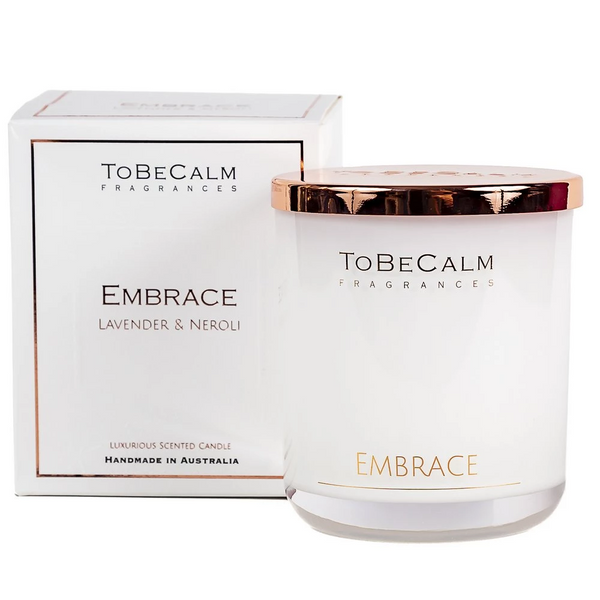 Scented Candle - To Be Calm - Embrace (L)
