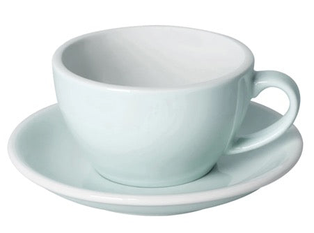Coffee Cup & Saucer - River Blue - 2 sizes | Gaya Alegria